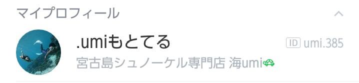 宮古島シュノーケル専門店海umi もとてる